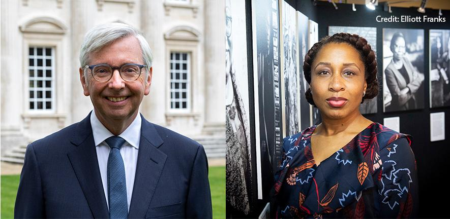 International Women's Day Lecture 2021: Dr Nicola Rollock and Prof Stephen J Toope in conversation
